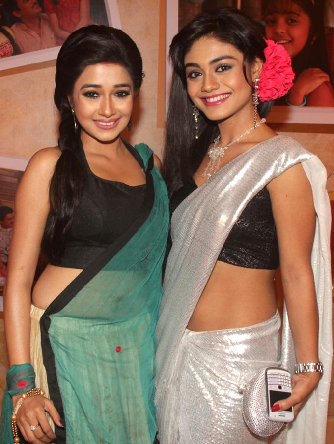 Tina And Srijita Nice Look Cute Smiling Still Uttaran 1000 Episode