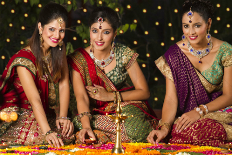 Indijke prave rangoli