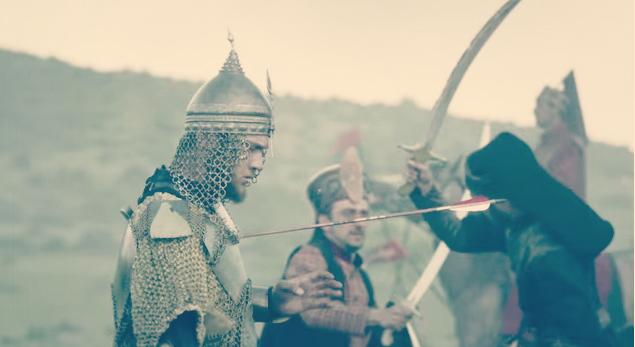 Bajazita pogađa Muratova strela!