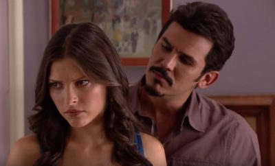 Ružičasti dijamant – 19. epizoda – Junior poljubi Rosu/Evu iznenada, Barbara ih slika i pokazuje Jose Ignaciu!