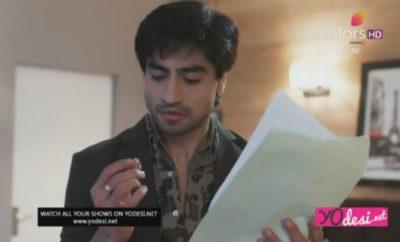 Bepannah – 31. ep. – Aditya ugleda Poojino ime na prstenu koji je Zoya dobila od Yasha!