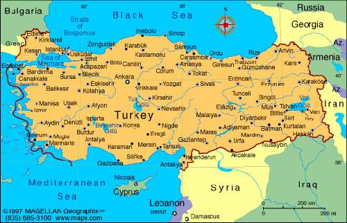 Mapa Turske Superjoden
