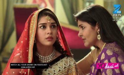 Ek Tha Raja Ek Thi Rani (500. ep.) 28.06.2017. – Rani i porodica saznaju da je Suminda zapravo maskirana Vasundra!