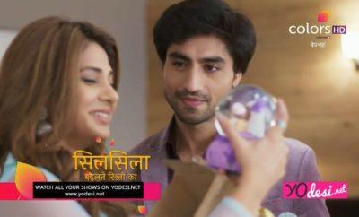 Bepannah - 110. ep. - Aditya daruje Zoyi poklon i planira da je zaprosi ovog puta!